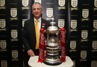 FA Cup with Mike Thornton